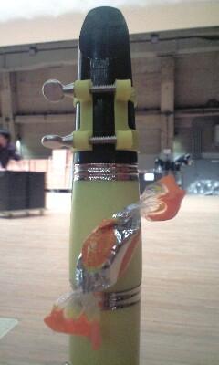 昨日の使用楽器の一つ
