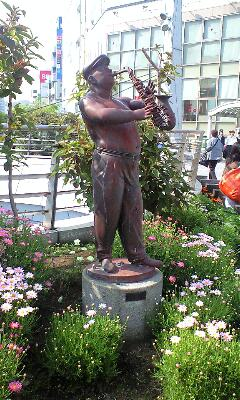 横須賀のサックスおじさんat