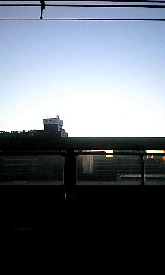 夜勤明けの朝は...東京駅の