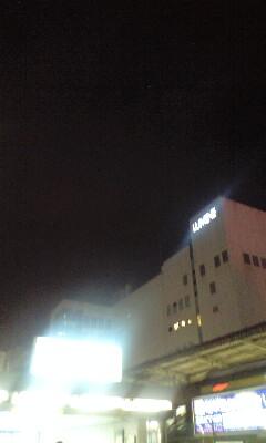 夜の荻窪のソラ〜